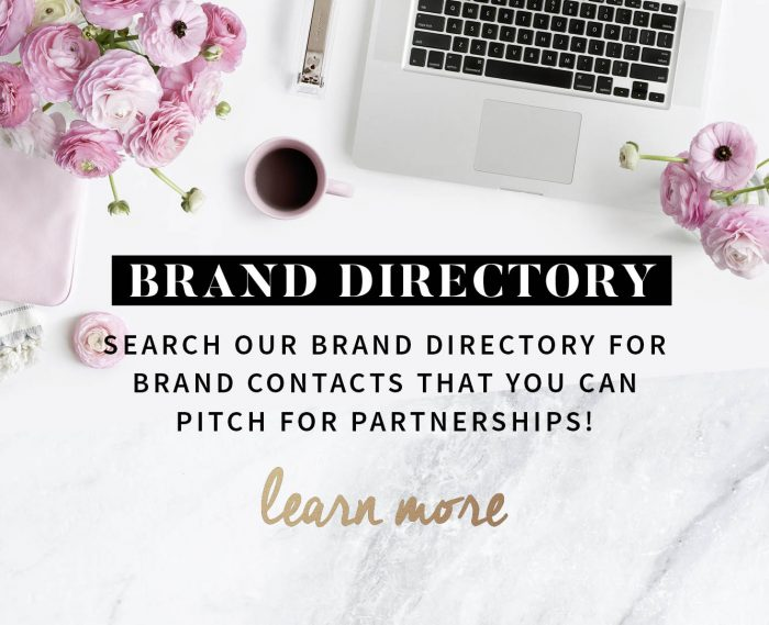 brand directory influencer marketing