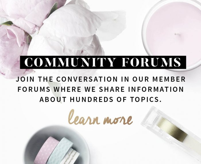 blogging community forums