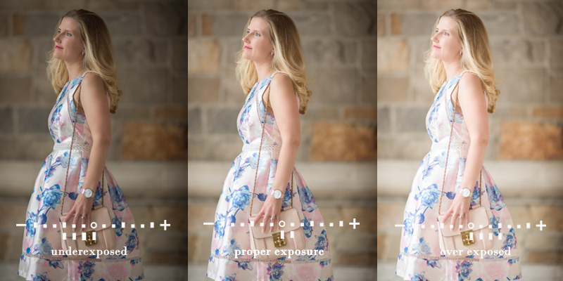 Exposure variations when shooting in manual mode