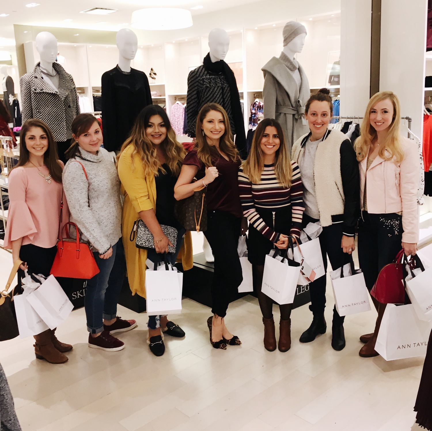 Ann Taylor Short Hills NJ Style Collective Blogger Meetup